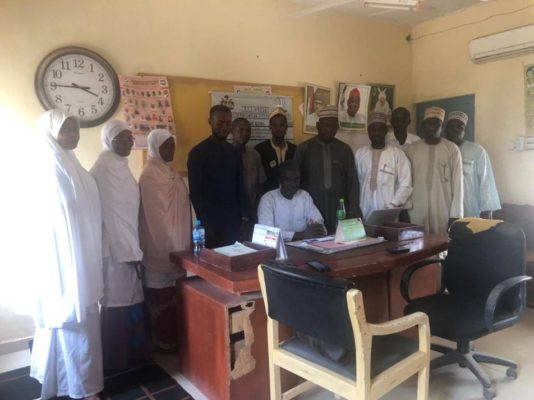 Orientation of health care workers in Minjibir LGA on WIA operations